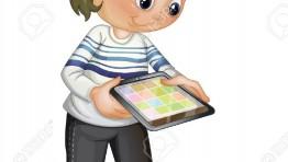 Tablet Clipart For Kids