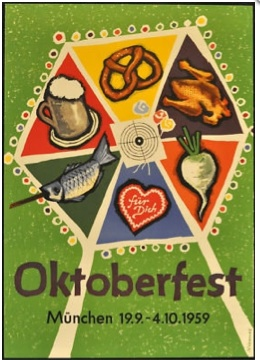 Vintage Oktoberfest Poster 7