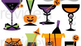 Adult Halloween Clip Art2