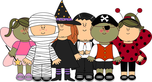 Adult Halloween Clip Art3