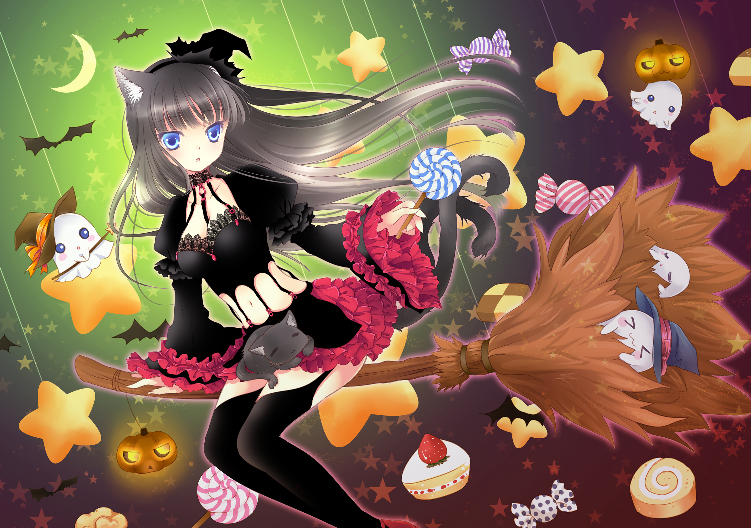 Anime Halloween Wallpaper4
