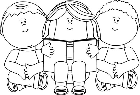 Black And White Halloween Clip Art For Kids1