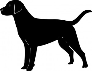 Black Lab Clip Art For Halloween4 300×234