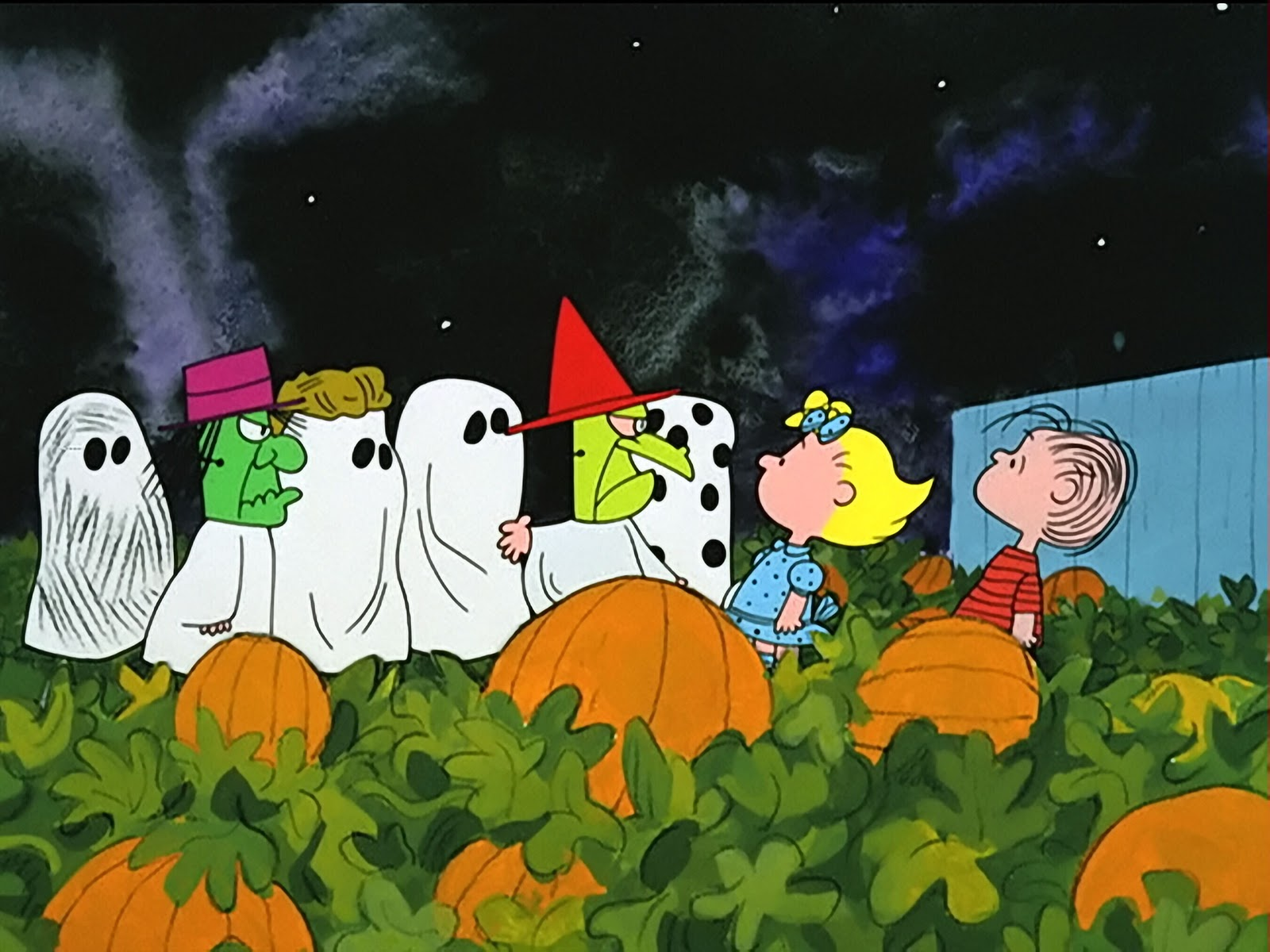 Charlie Brown Halloween Wallpaper