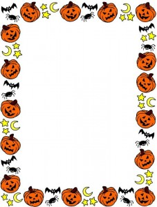 Clip Art For Halloween Borders1 227×300