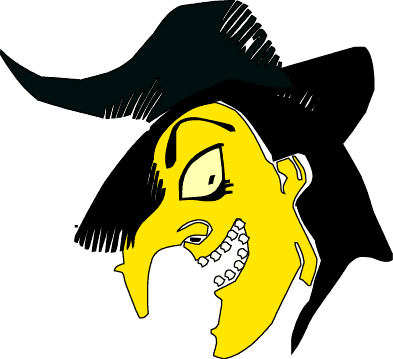 Clip Art For Halloween Witches2