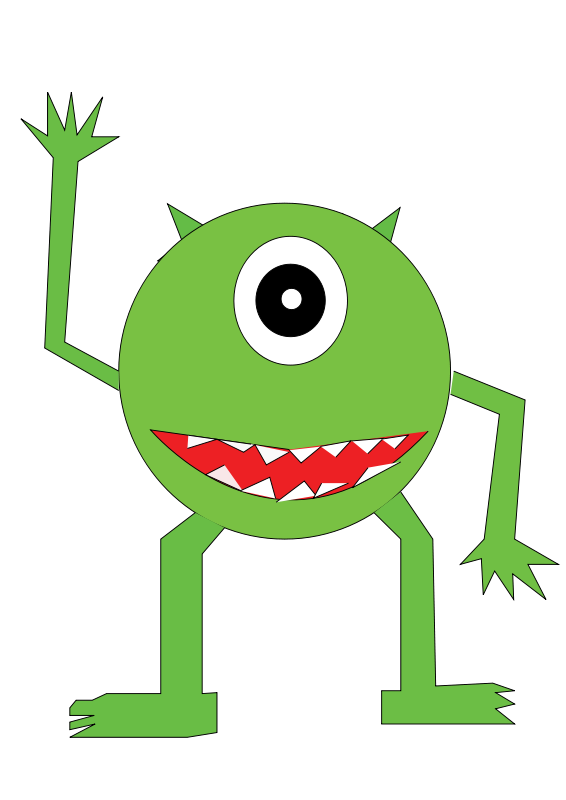 Clip Art Free Halloween Monsters