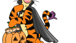 Clip Art Of Halloween Disney Characters2