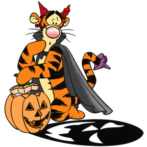Clip Art Of Halloween Disney Characters2