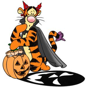 Clip Art Of Halloween Disney Characters5