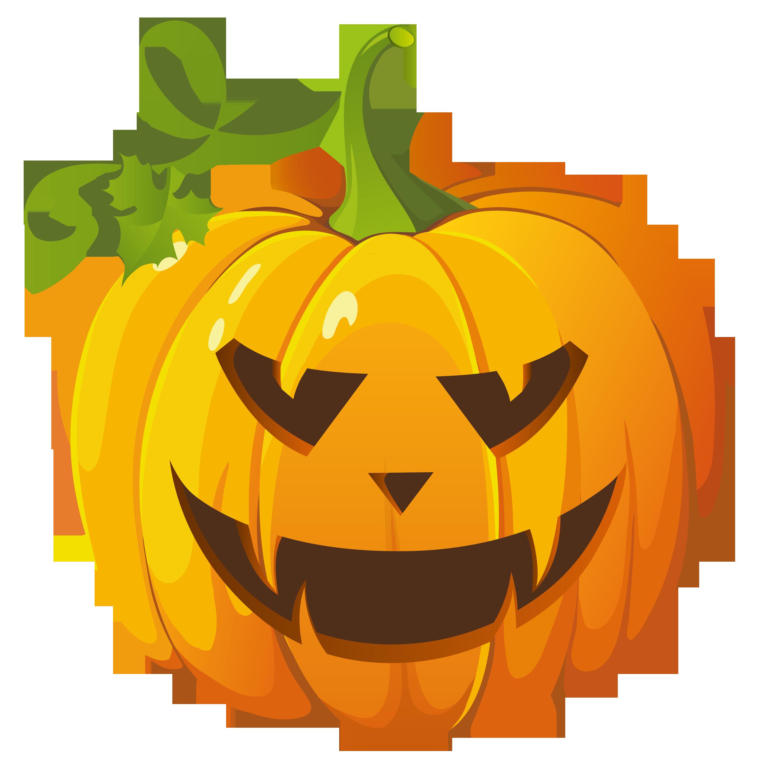 Clip Art Of Halloween Pumpkins
