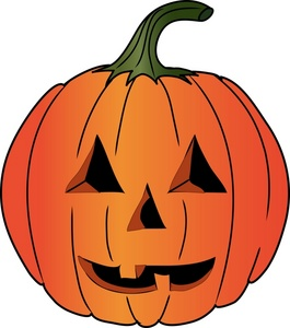 Clip Art Of Halloween Pumpkins1