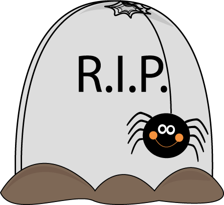 Clip Art Tombstones Halloween
