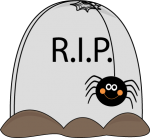 Clip Art Tombstones Halloween3 150×138