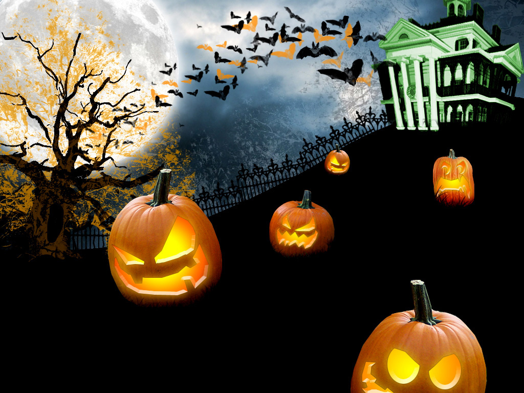 Computer Halloween Wallpaper1