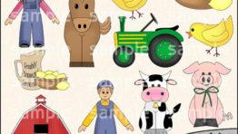 Country Living Halloween Clip Art2