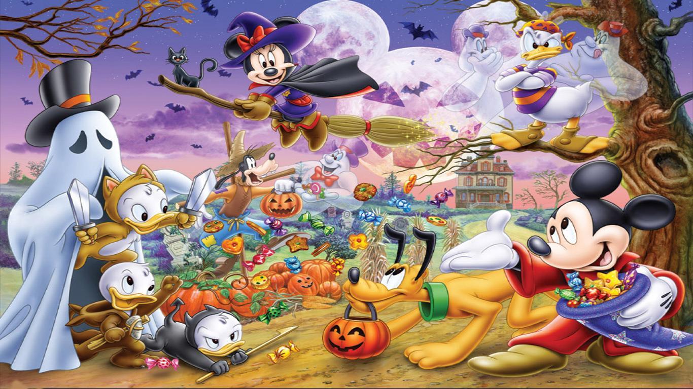 Cute Disney Halloween Wallpaper1