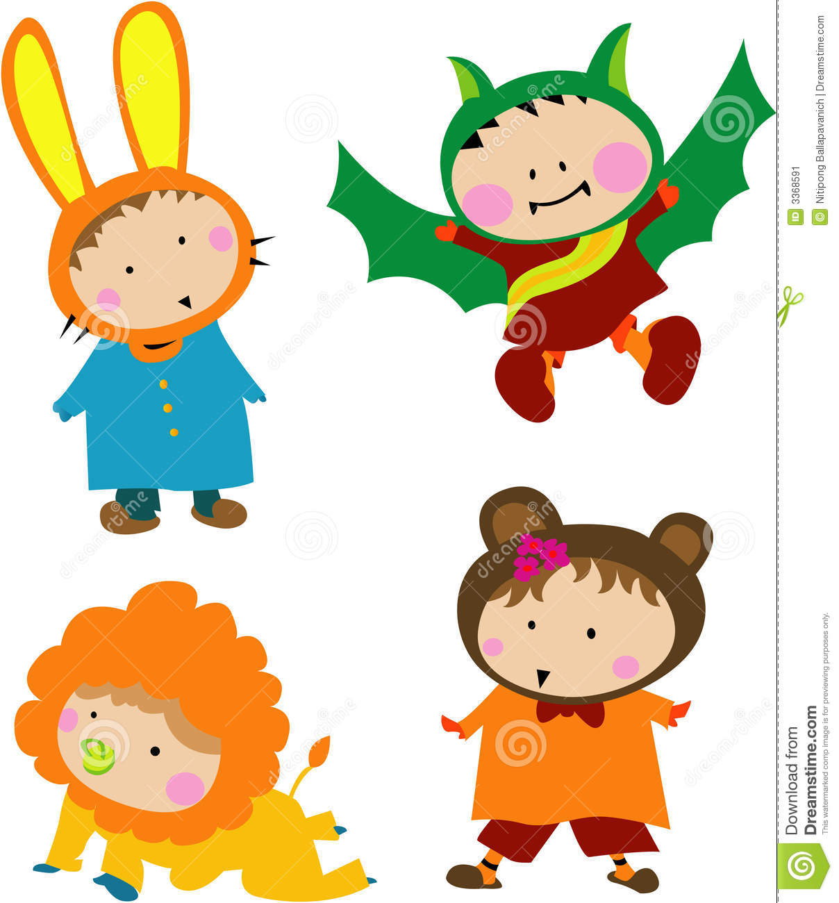 Cute Halloween Clip Art For Kids1