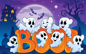 Cute Halloween Ghost Wallpaper1 300×188