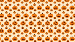 Cute Halloween Pattern Background4