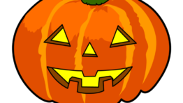 Cute Halloween Pumpkin Clip Art2 768×768