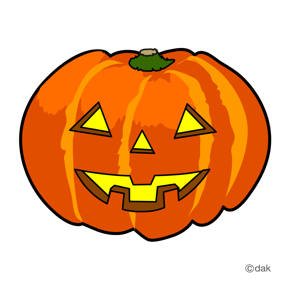Cute Halloween Pumpkin Clip Art2
