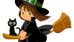 Cute Halloween Witch Clip Art