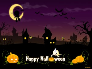 Cute Happy Halloween Background3 300×225