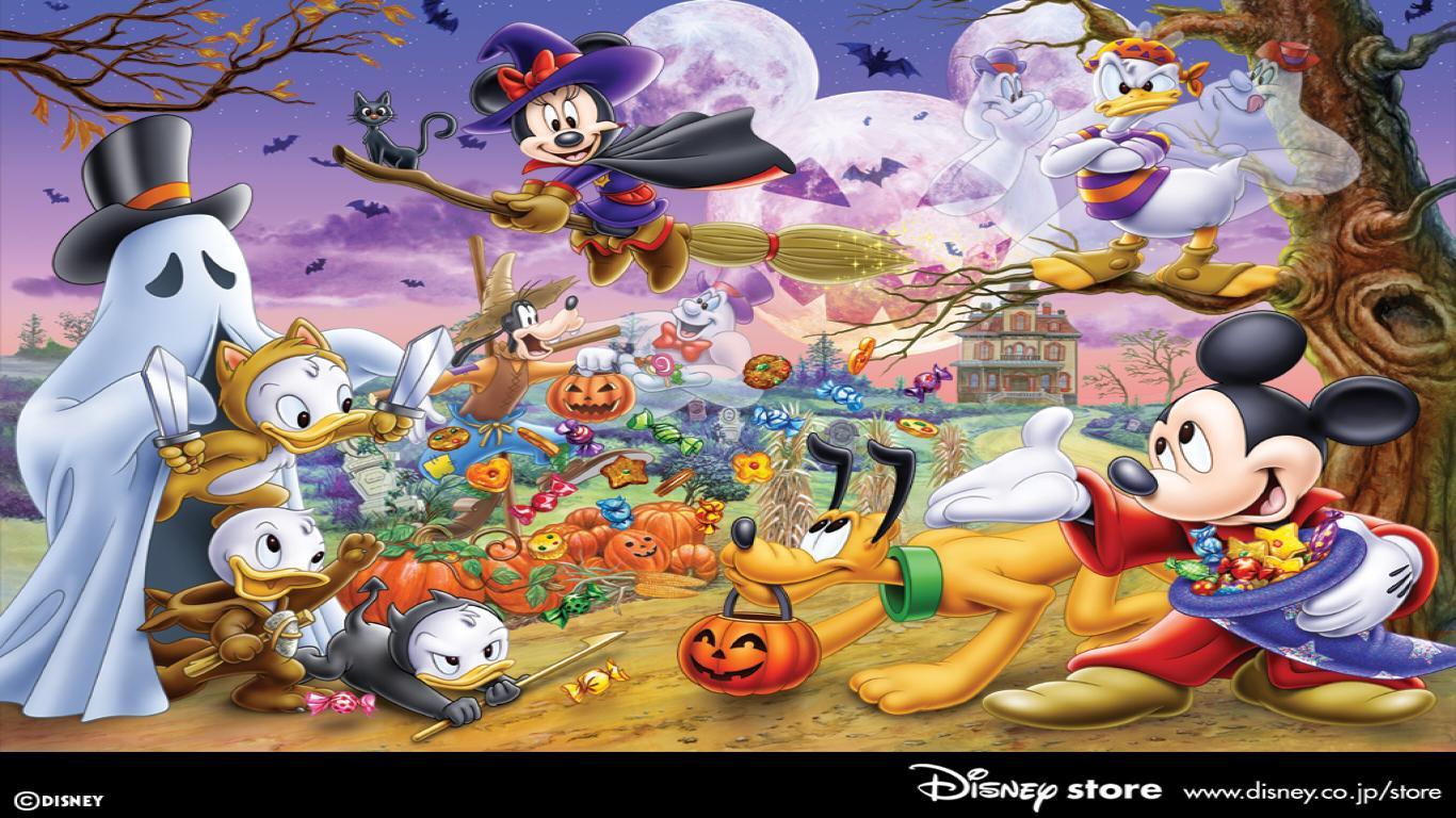 Disney Happy Halloween Wallpaper1