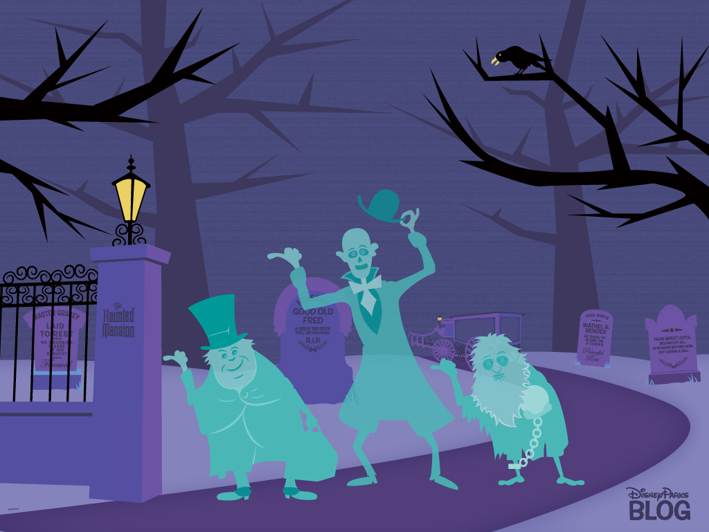 Disney Haunted Mansion Halloween Wallpaper3