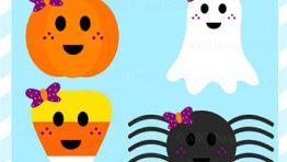Etsy Halloween Clip Art3