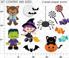 Etsy Halloween Clip Art4