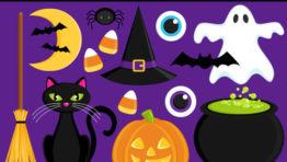 Etsy Halloween Clip Art6