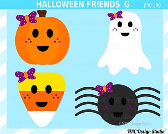Etsy Halloween Clip Art8
