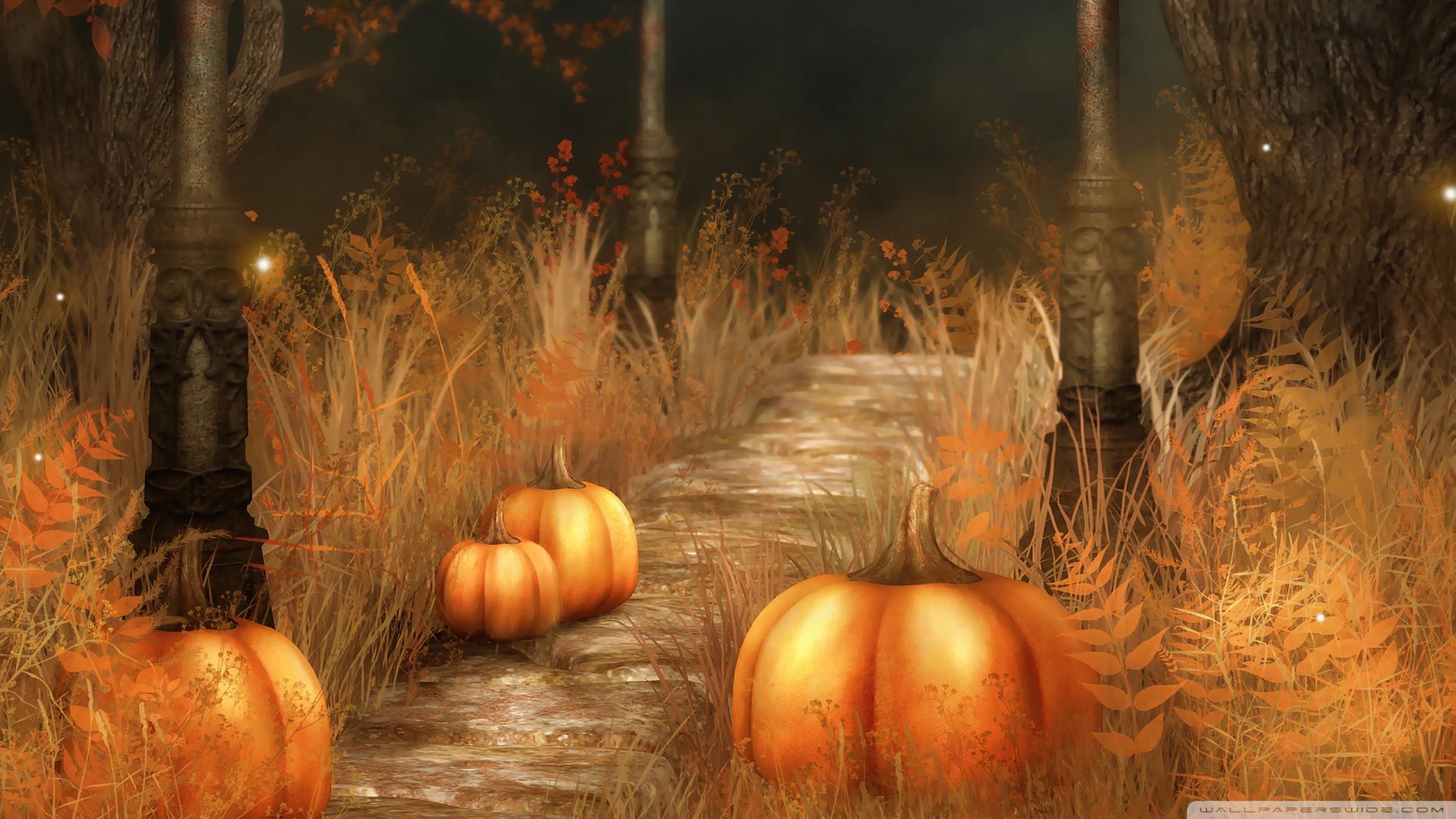 Fall Halloween Wallpaper1