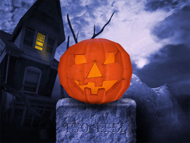 Free 3d Halloween Wallpaper1