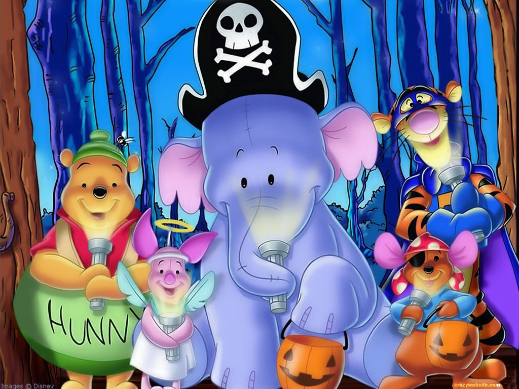 Free Disney Halloween Wallpaper2