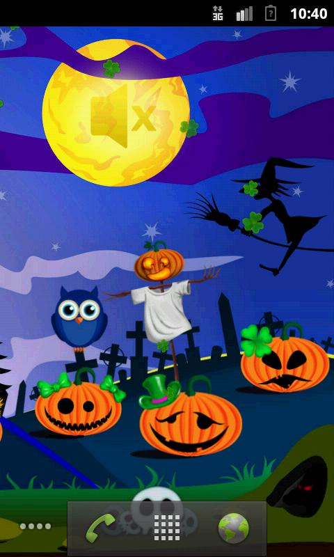 Free Live Halloween Wallpaper