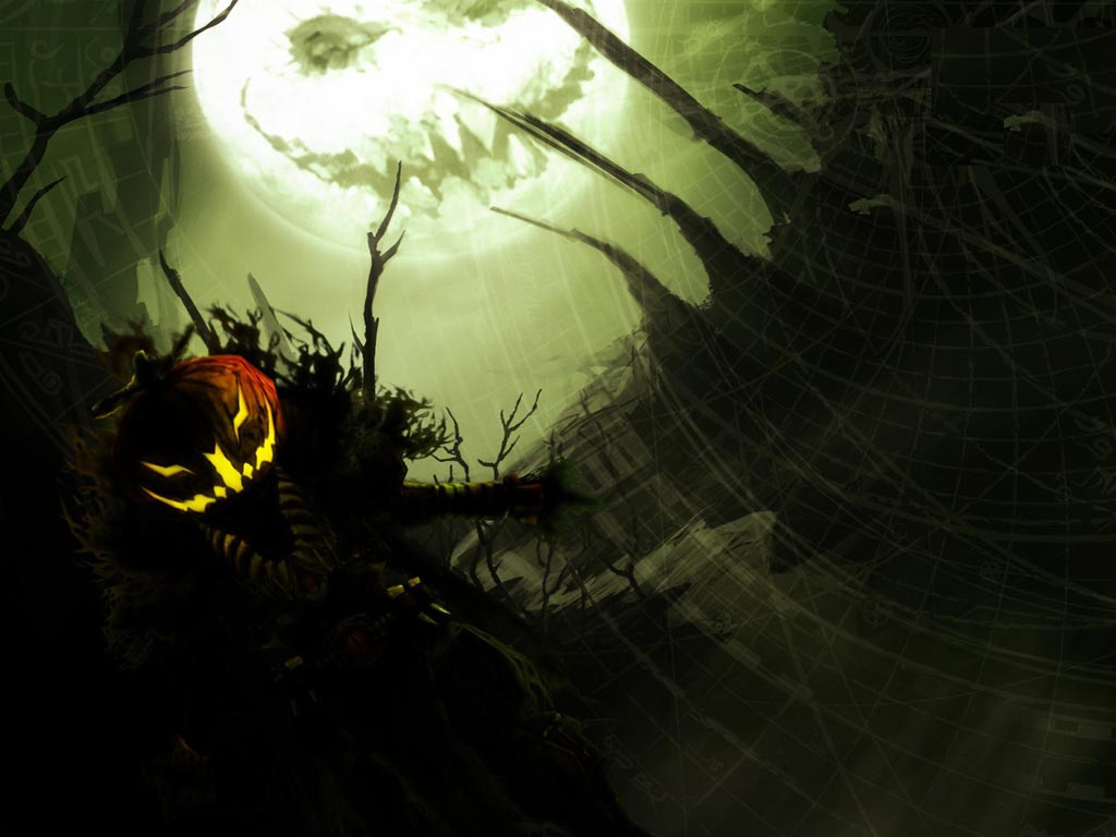 Free Scary Halloween Wallpaper