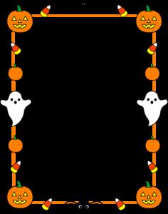 Halloween Border Clip Art1 236×300