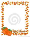 Halloween Candy Border Clip Art3 120×150