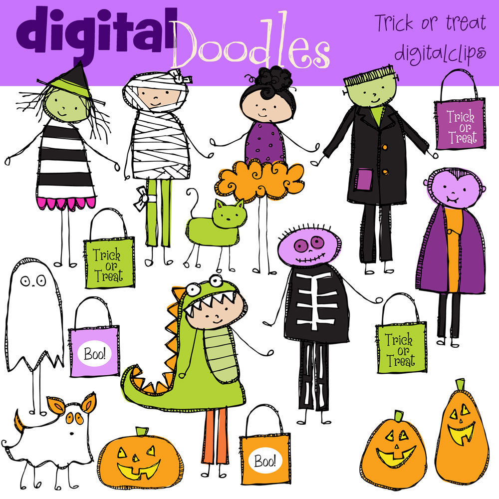 Halloween Clip Art 1000 X 1000 Resolution2