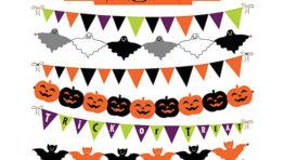 Halloween Clip Art Banner1