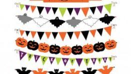 Halloween Clip Art Banner1 300×254