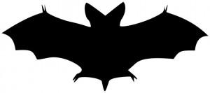 Halloween Clip Art Bats 300×133