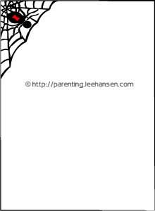 Halloween Clip Art Borders For Letters2