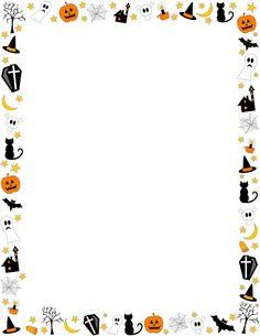 Halloween Clip Art Borders Free1