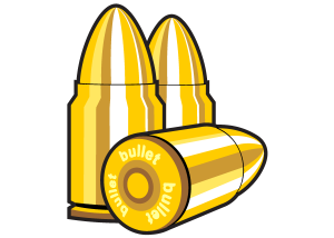 Halloween Clip Art Bullets 300×214