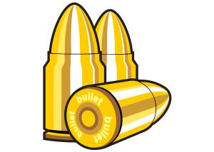 Halloween Clip Art Bullets 300×214