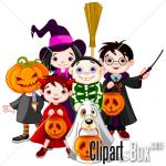 Halloween Clip Art Characters1 150×150